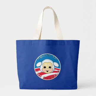 Power To The Sheeple Obama Tote Bags