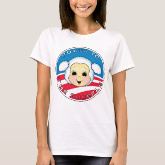Power To The Sheeple (Obama) T-Shirt