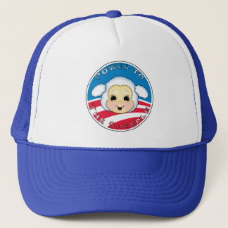 Power To The Sheeple (Obama) Trucker Hat