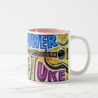 Power to the Uke Coffee Mug