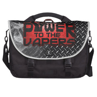 Power To The Vapers Laptop Bags
