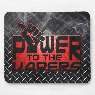 Power To The Vapers Mouse Pad