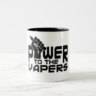 Power To The Vapers Mug