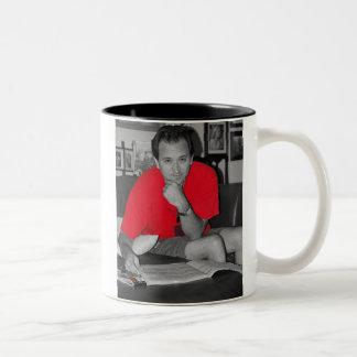 power trip Two-Tone coffee mug