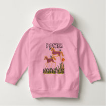 Power Unicorn Sunshine Kids Hoodie