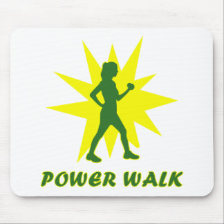 Power Walk Mouse Pad