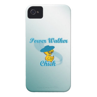 Power Walker Chick #3 iPhone 4 Case-Mate Cases