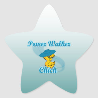Power Walker Chick #3 Star Sticker