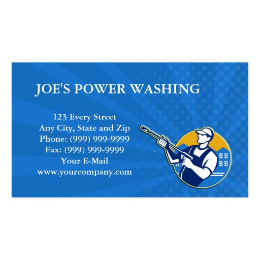Power washing business cards templates 28 images pressure power washing business cards templates by power washing pressure water blaster worker sided wajeb Image collections