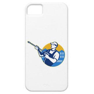 Power Washing Pressure Water Blaster Worker iPhone SE/5/5s Case