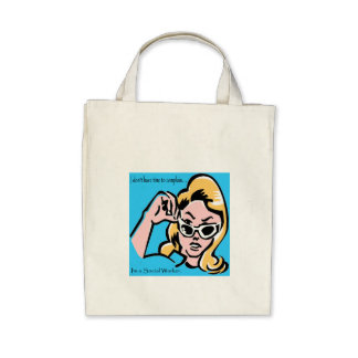 Power Woman Tote Bags