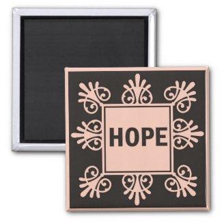 Power Word For Motivation - HOPE magnet