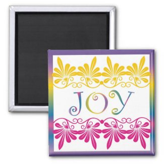 Power Word For Motivation - JOY magnet