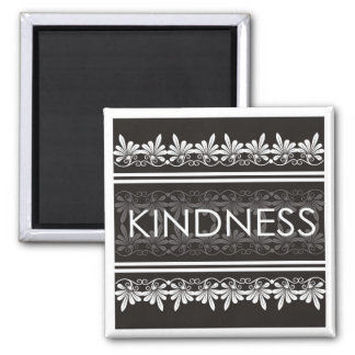 Power Word For Motivation - KINDNESS 2 Inch Square Magnet