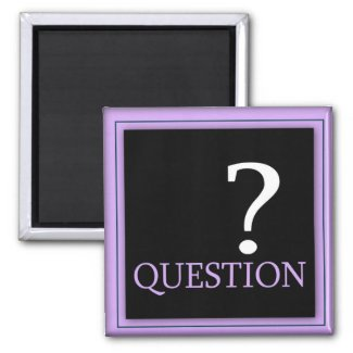 Power Word For Motivation - QUESTION magnet