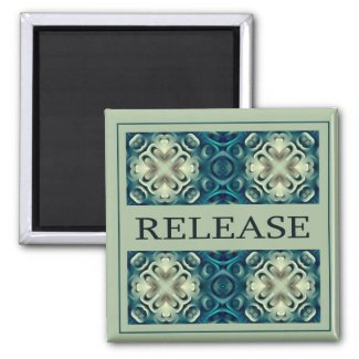 Power Word For Motivation - RELEASE magnet