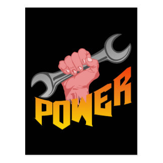 Power Wrench Postcards