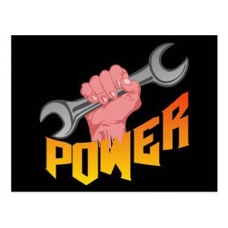 Power Wrench Postcard
