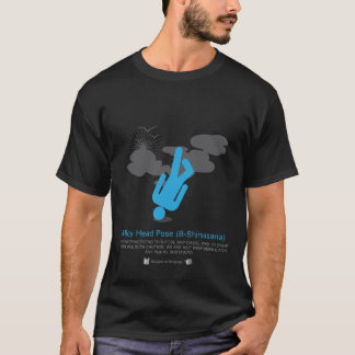 Power Yoga: B-Boy Head Pose (B-Shirsasana) T-Shirt