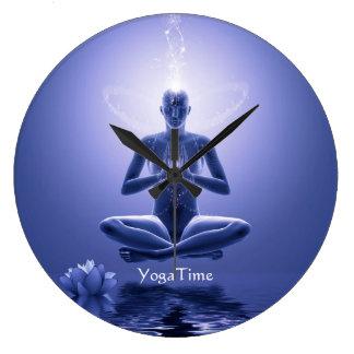 Power Yoga Round Clocks