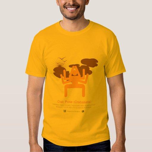 Power Yoga: Crab Pose (Crabasana) T-Shirt