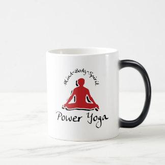 Power Yoga Gift 11 Oz Magic Heat Color-Changing Coffee Mug