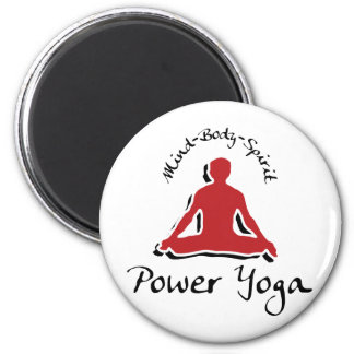 Power Yoga Magnet