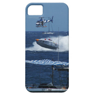 Powerboat and a helicopter iPhone SE/5/5s case