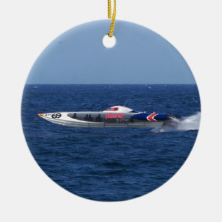 Powerboat Christmas Ornaments