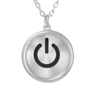 PowerButton.png Round Pendant Necklace