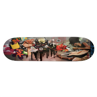 Powerchord Martini Time - Street Art Sk8 Deck