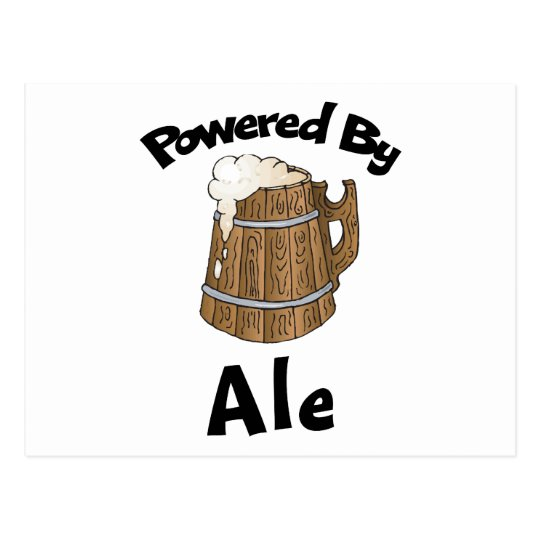 Powered By Ale Postcard