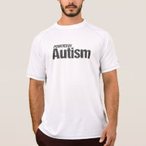 Powered By Autism running shirt