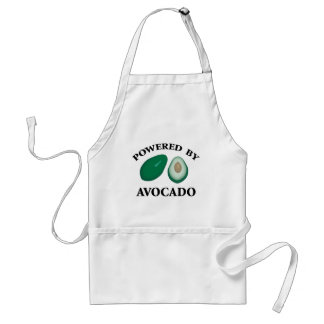 Powered By Avocado Adult Apron
