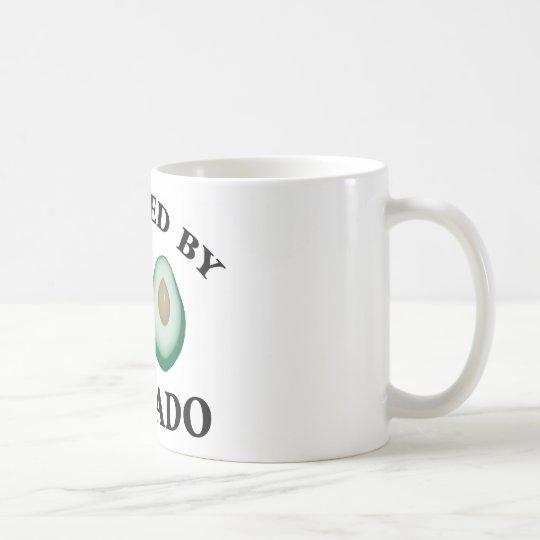 Powered By Avocado Coffee Mug
