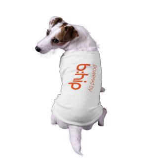 Powered by b:hip doggie shirt