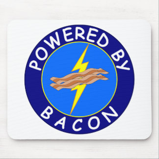 Powered By Bacon 2 Mouse Pad