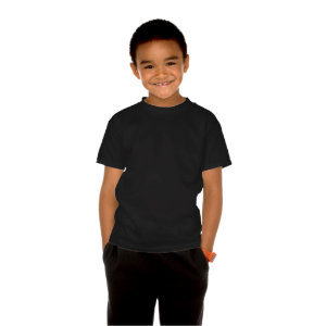 Powered By Bacon Blue Superhero Youth T-Shirt