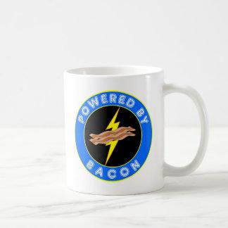 Powered By Bacon Coffee Mug