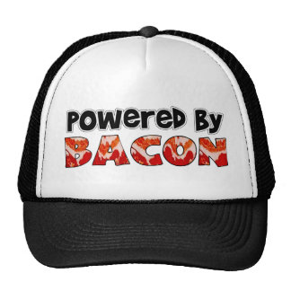 Powered by Bacon Mesh Hat
