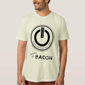 "Powered By Bacon ""Organic"" (Men's) T-Shirt"