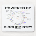 Powered By Biochemistry (Krebs Cycle) Mouse Pads