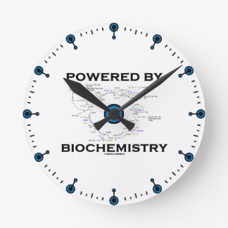 Powered By Biochemistry (Krebs Cycle) Round Clock