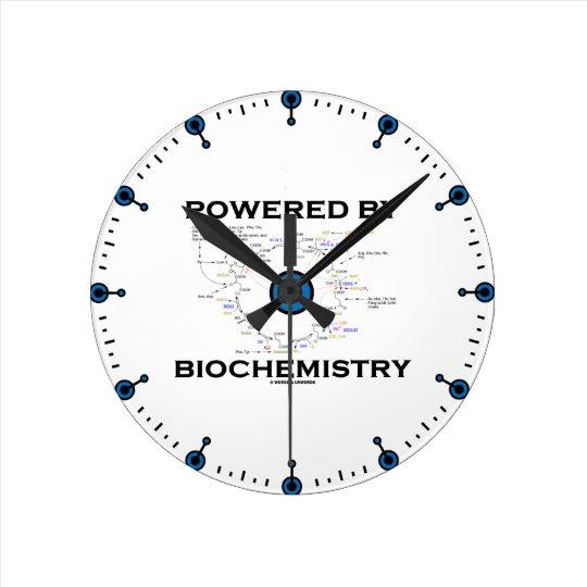 Powered By Biochemistry (Krebs Cycle) Round Clock