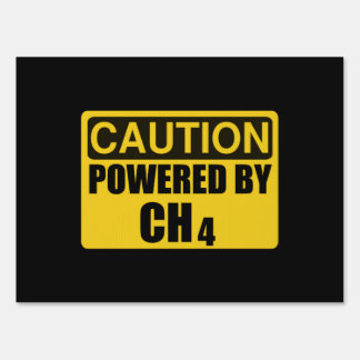 Powered By CH4 Sign