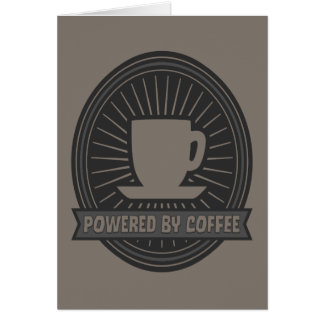 Powered by Coffee Card