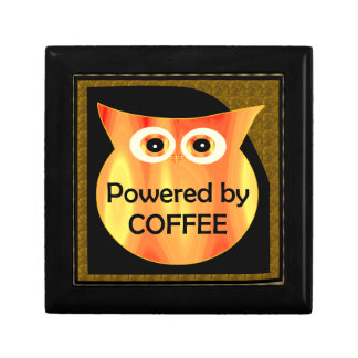 Powered by Coffee Owl Gift Box