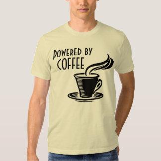 Powered By Coffee Retro T-shirt