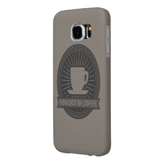 Powered by Coffee Samsung Galaxy S6 Cases