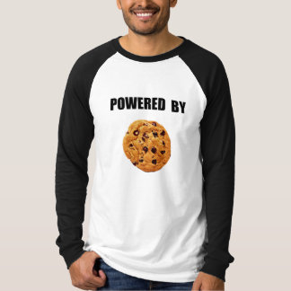 Powered By Cookie Tee Shirt